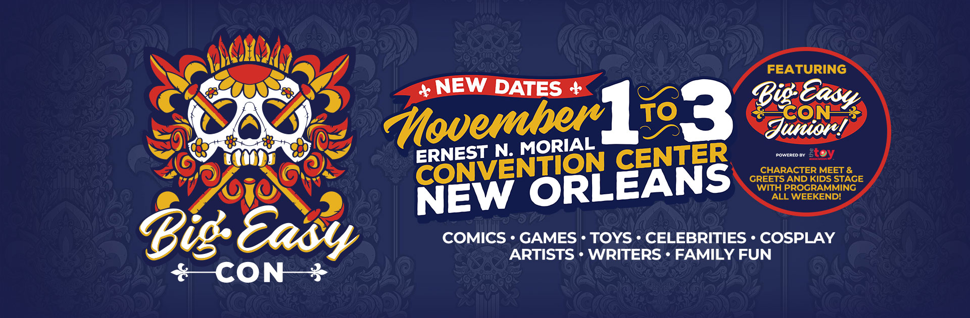 Find tickets from Big Easy Con