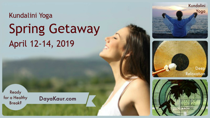 Tickets for Kundalini Yoga Spring Getaway in Mono from BrightStar Live Events