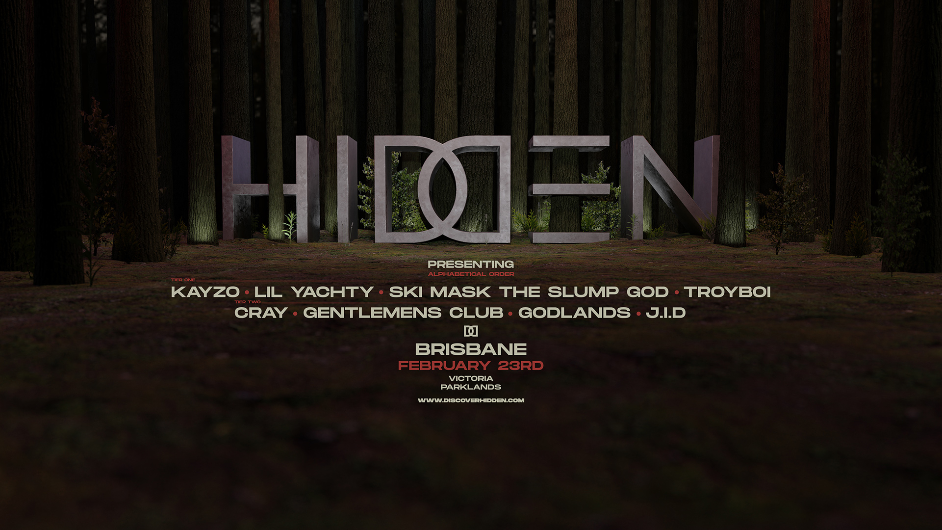 Tickets for HIDDEN 2019 - BRISBANE in Brisbane from Ticketbooth