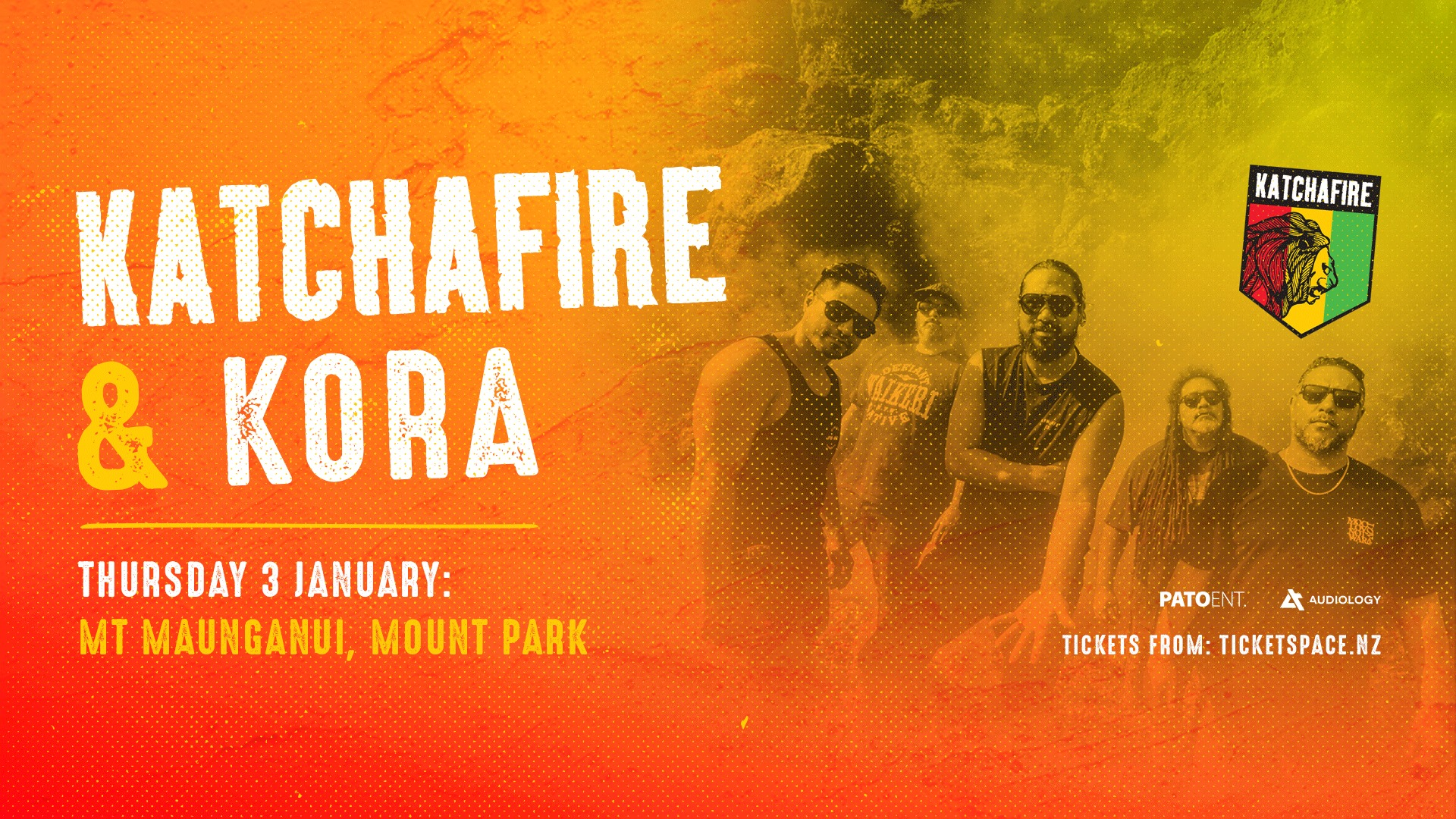 Tickets for KATCHAFIRE & KORA - Mt Maunganui in Mount Maunganui from Ticketspace