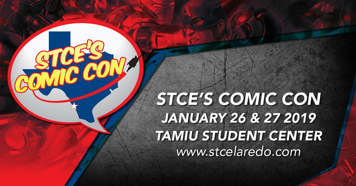 Tickets for STCE's Comic Con 2019 Tickets in Laredo from ShowClix