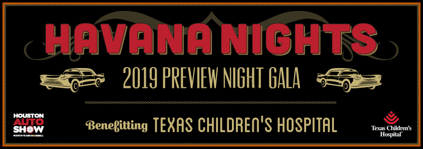 Tickets for Houston Auto Show 2019 Preview Night Gala  in Houston from ShowClix
