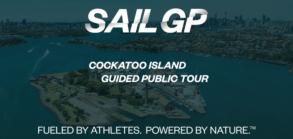 Tickets for SailGP Guided Public Tours - Cockatoo Island [SOLD OUT - WAITLIST NOW] in Sydney  from Ticketbooth