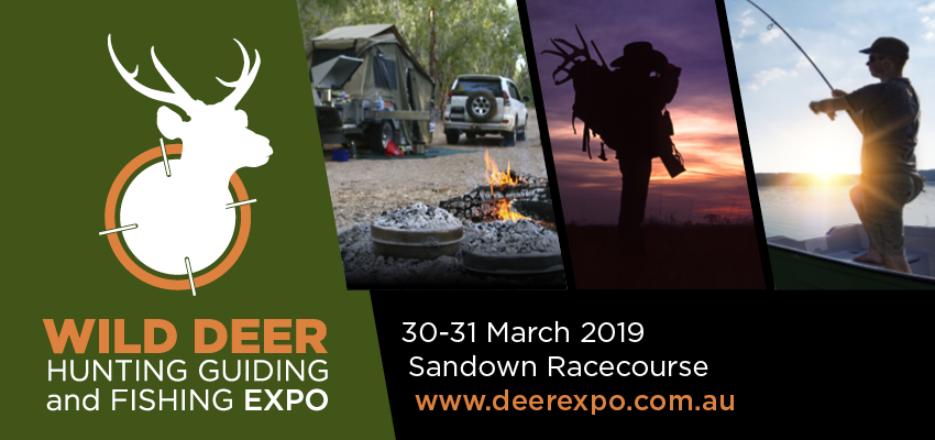 Tickets for Wild Deer Hunting, Guiding & Fishing Expo in Springvale from Ticketbooth