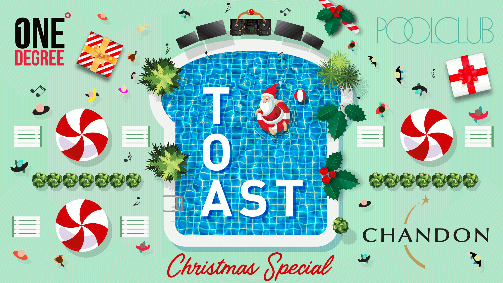 Tickets for Toast - The Christmas Special in Sydney from Merivale