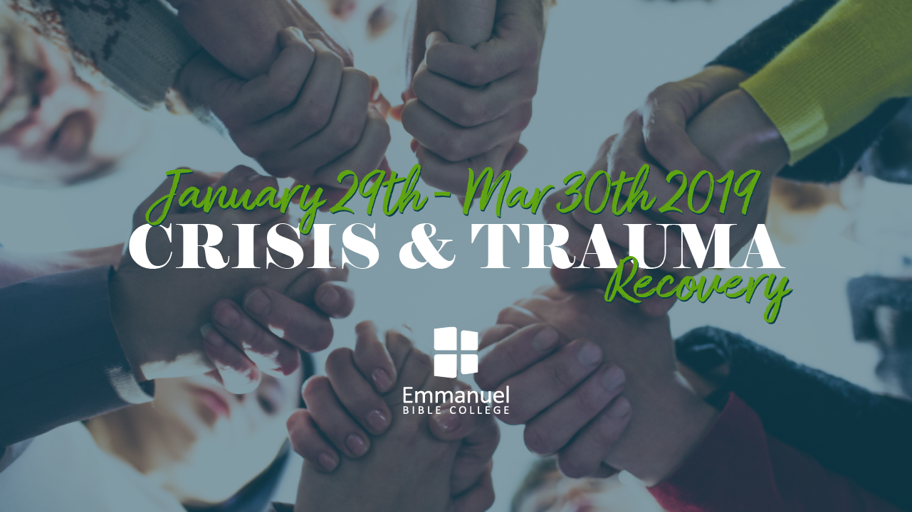 Tickets for Crisis & Trauma Recovery in Kitchener from BuzzTix