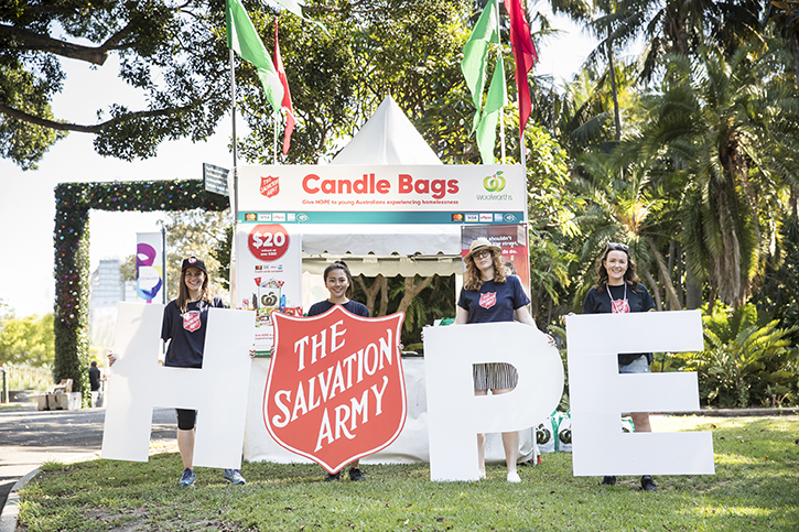 Tickets for WOOLWORTHS CAROLS IN THE DOMAIN 2019 REHEARSAL - SEATS FOR SALVOS in Sydney from Ticketbooth