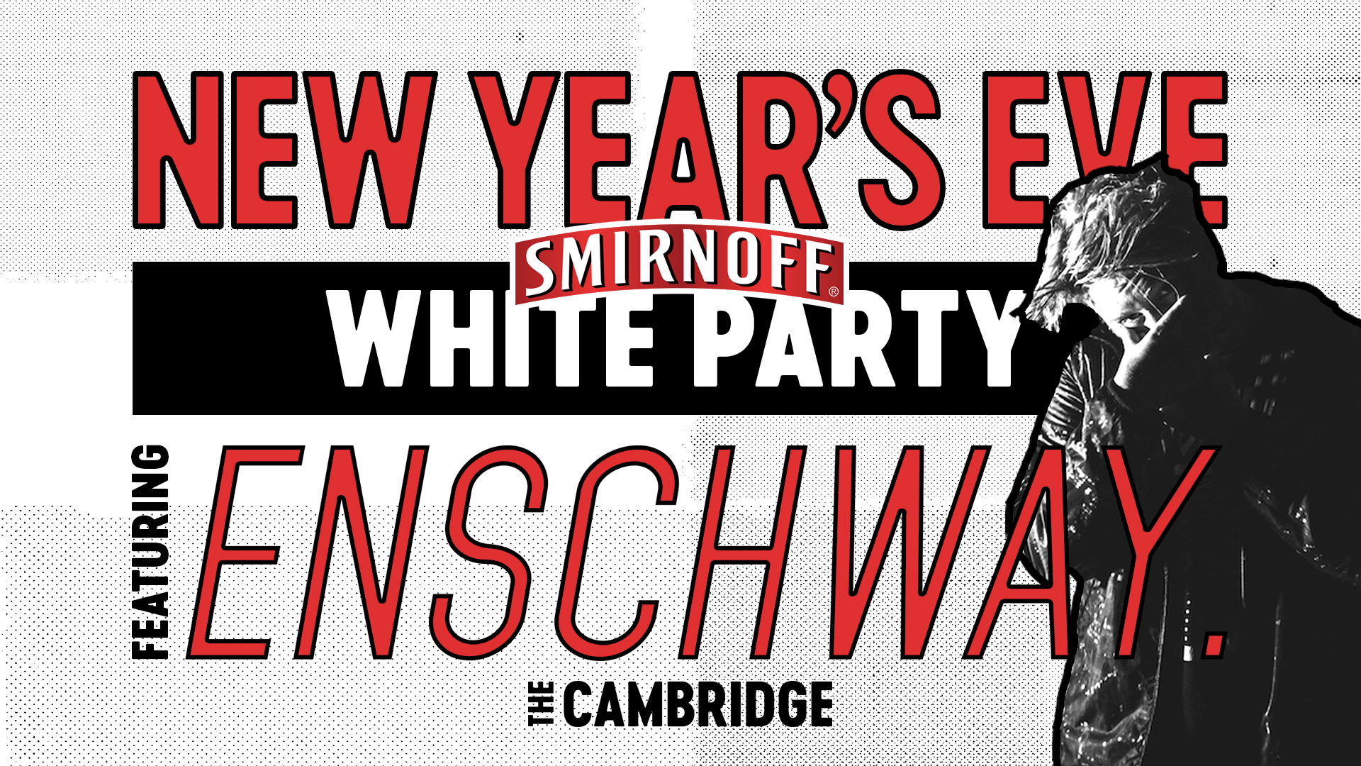 Tickets for NYE Smirnoff White Party ft. ENSCHWAY in Newcastle from Ticketbooth