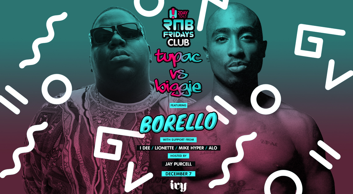 Tickets for RNB Fridays | Tupac VS Biggie in Sydney from Merivale