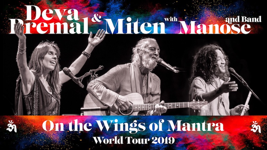 Tickets for Deva Premal and Miten with Manose in Santa Barbara from BrightStar Live Events