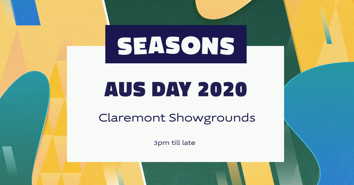 Tickets for SEASONS: Australia Day in Perth from Ticketbooth