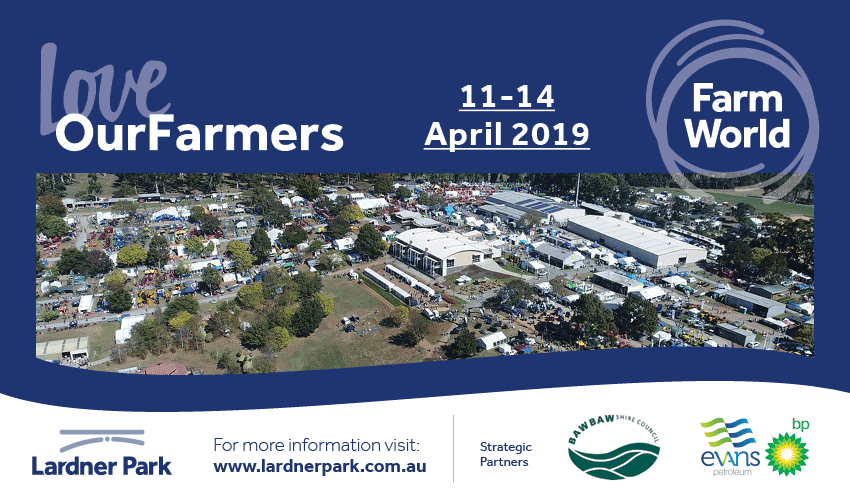 Tickets for Farm World 2019 in Lardner from Ticketbooth