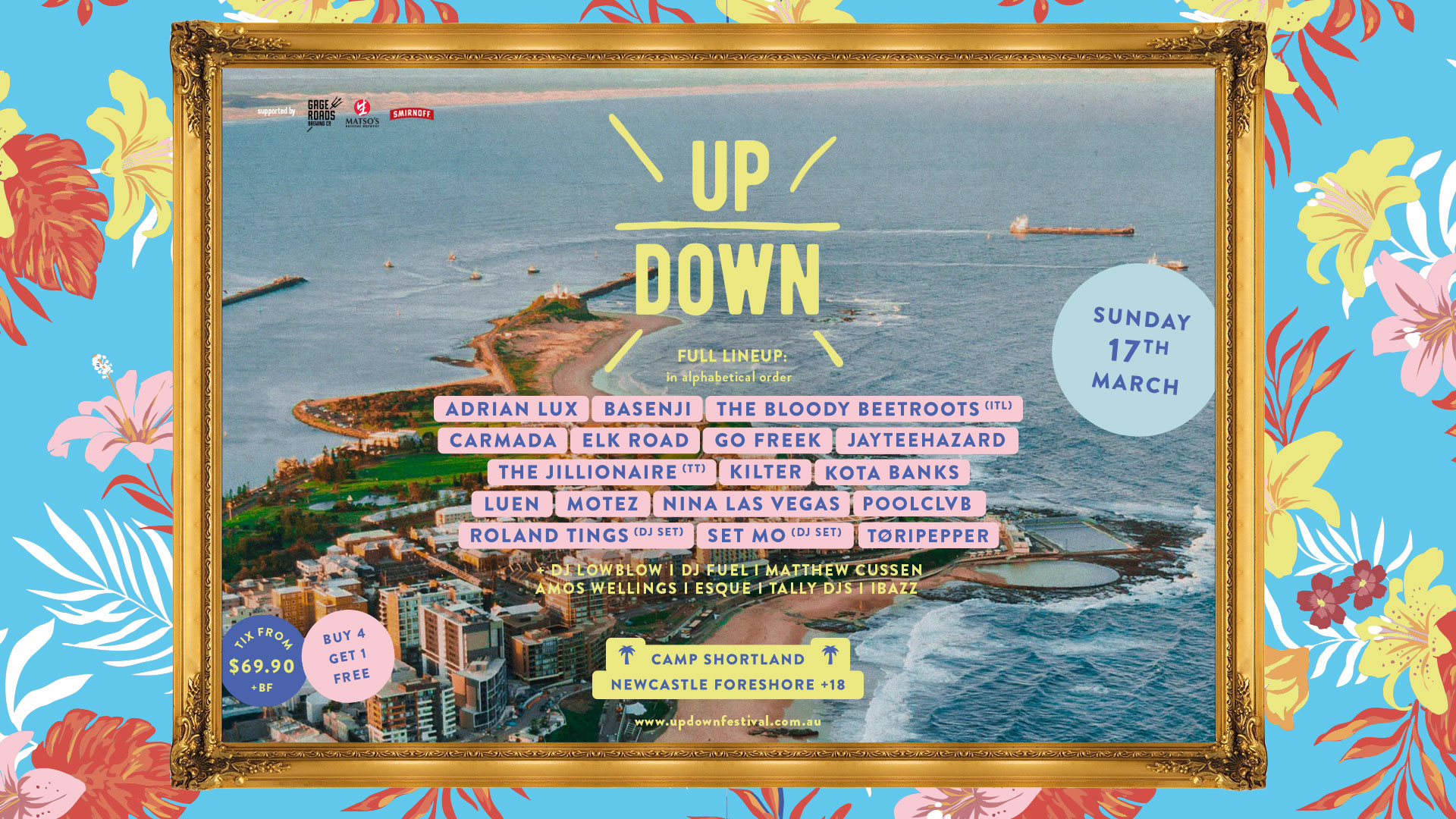 Tickets for UP DOWN Festival in Newcastle from Ticketbooth