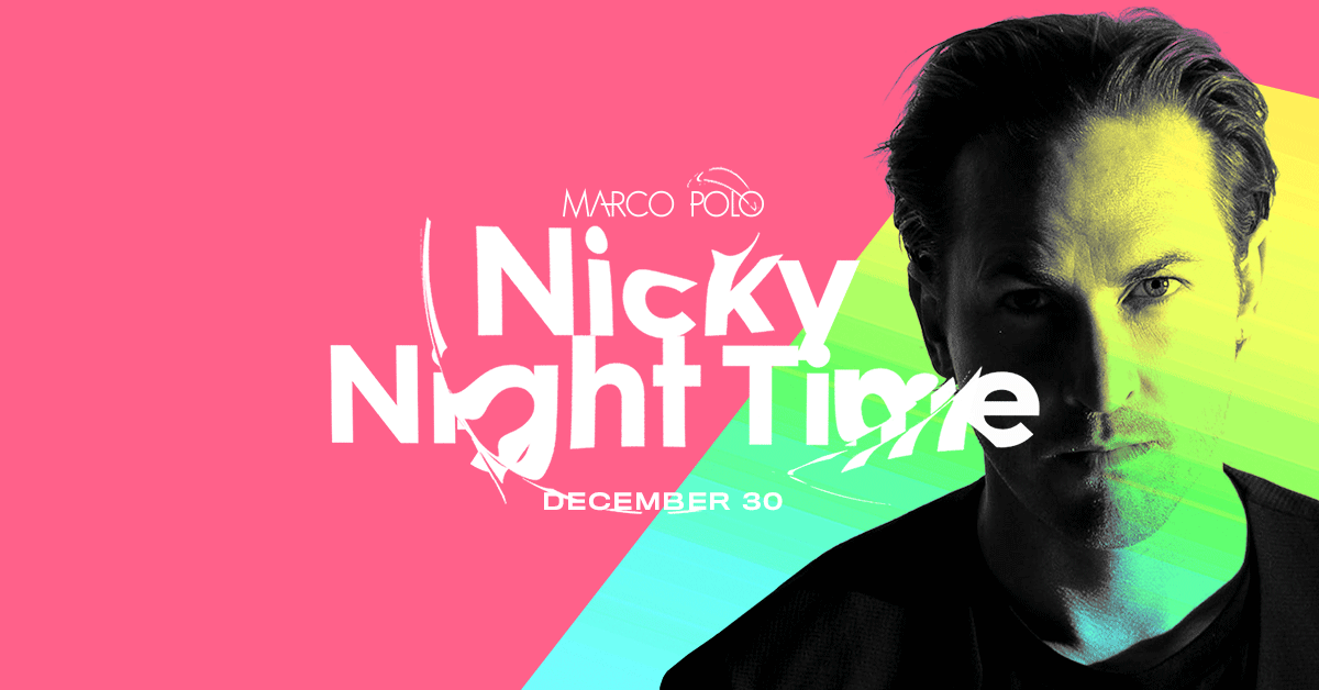 Tickets for Marco Polo ft. Nicky Night Time in Sydney from Merivale