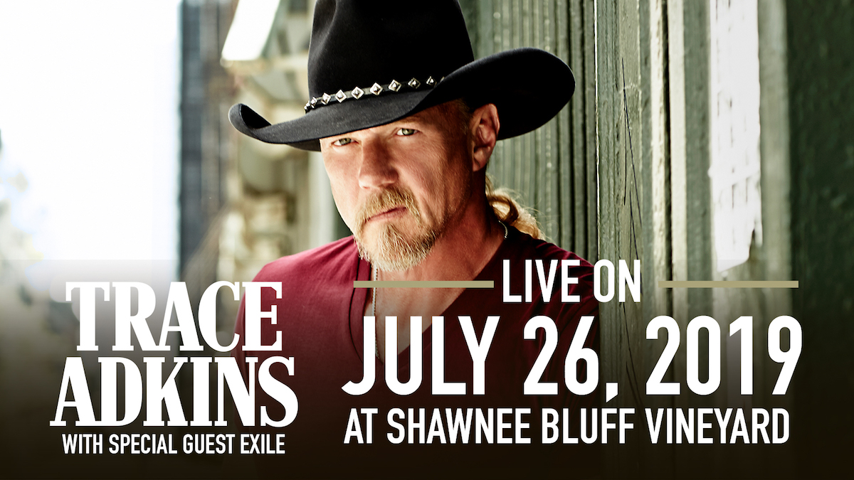 Tickets for Trace Adkins w/ Special Guest Exile  in Eldon from ShowClix