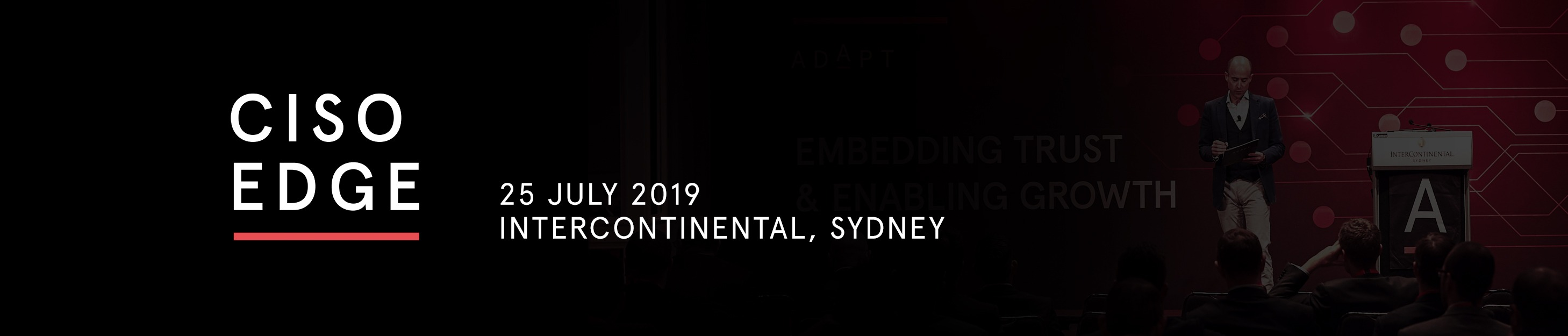 Tickets for CISO Edge in Sydney from Ticketbooth
