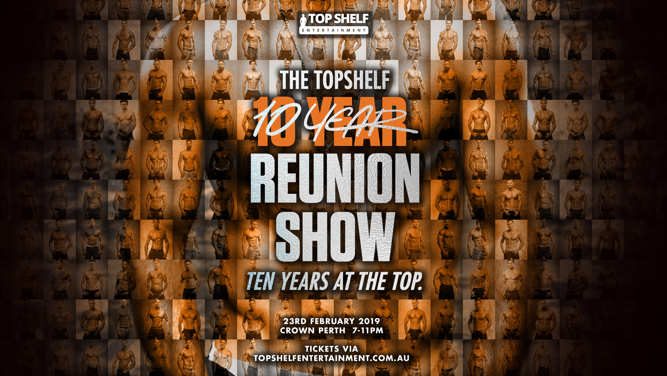 Tickets for Top Shelf 10 Year Reunion – 10 Years At The Top in Burswood from Ticketbooth