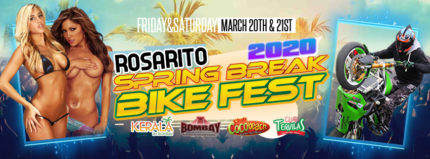 Tickets for Spring Break Bike Fest 2019 in Rosarito  from ShowClix