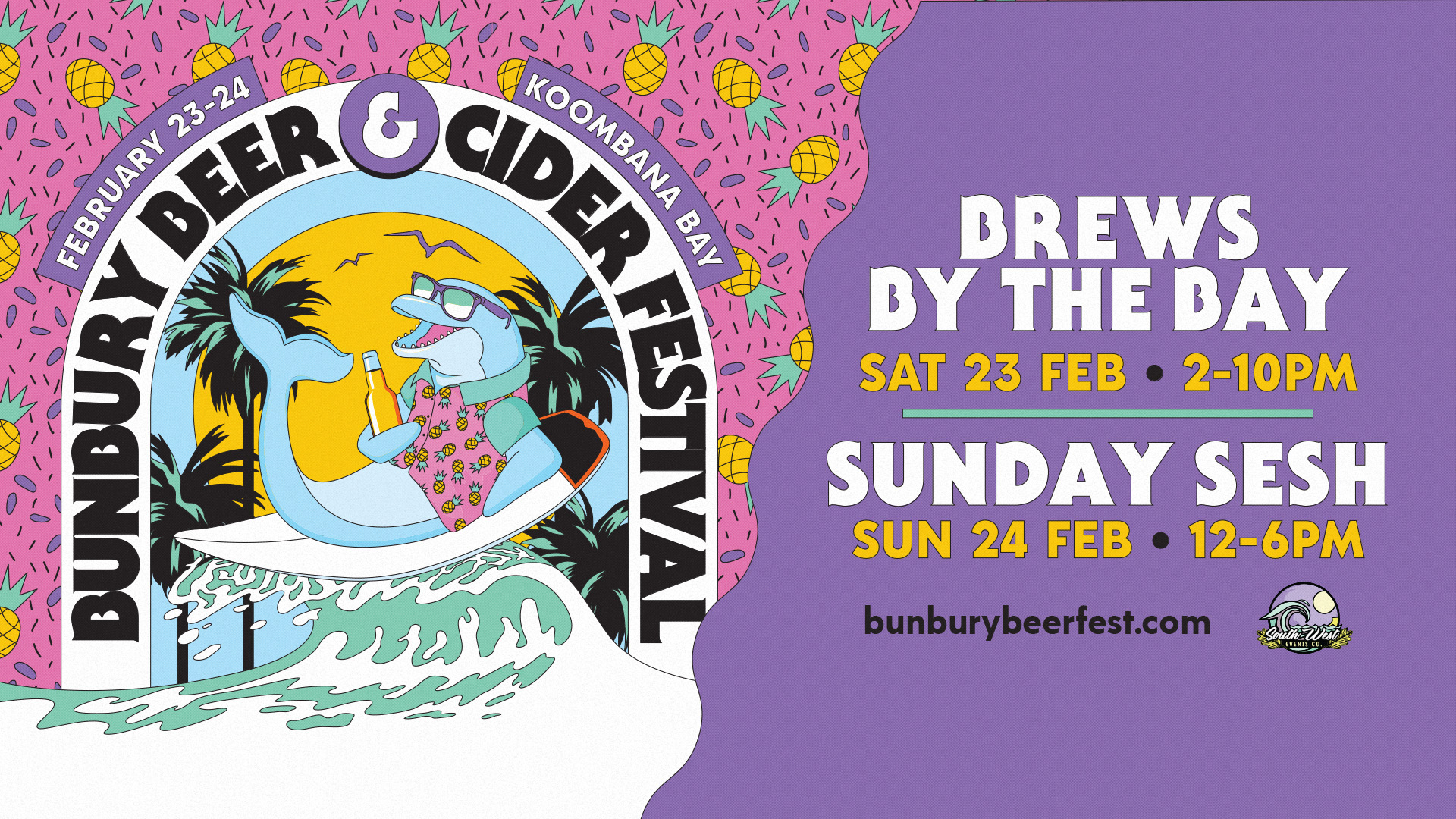 Tickets for Bunbury Beer & Cider Festival 2019 in Bunbury from Ticketbooth