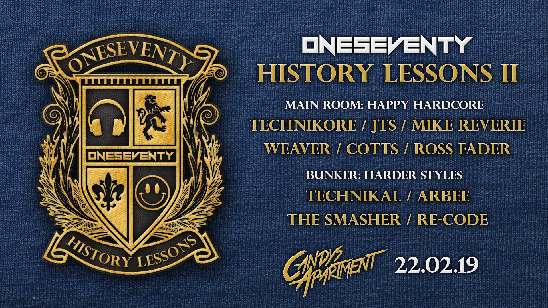 Tickets for OneSeventy: History Lessons II in Potts Point from Ticketbooth