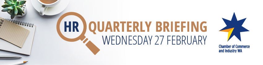 Tickets for HR Quarterly Briefing in East Perth from Ticketbooth