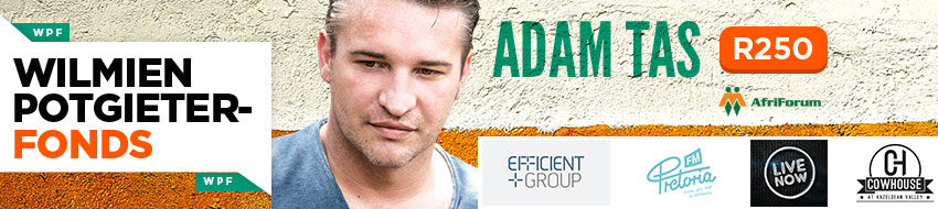 Tickets for Adam Tas - Wilmien Potgieter Fonds in Pretoria from Tixsa