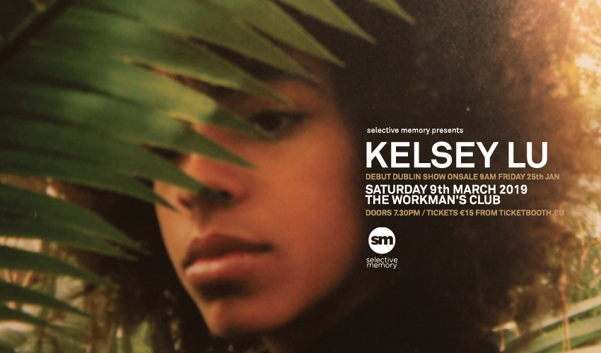 Tickets for Kelsey Lu in Dublin from Ticketbooth Europe