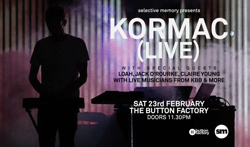 Tickets for Kormac_ButtonFactory in Dublin from Ticketbooth Europe