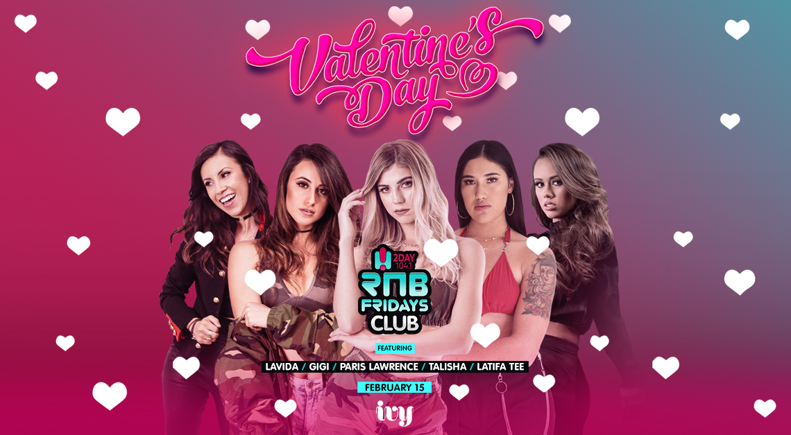 Tickets for RNB Fridays | Valentines Day in Sydney from Merivale