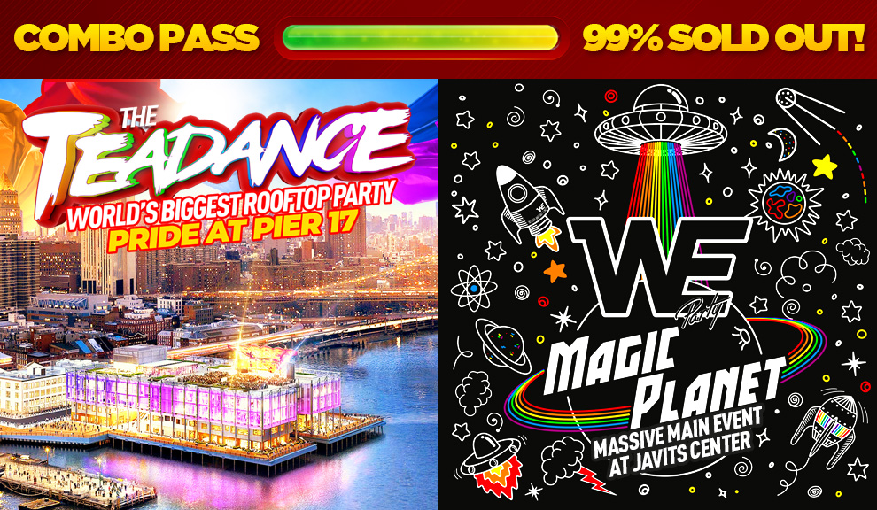 Tickets for PRIDE SATURDAY: The Tea Dance at Pier 17 + WE PARTY Main Event in New York from ShowClix