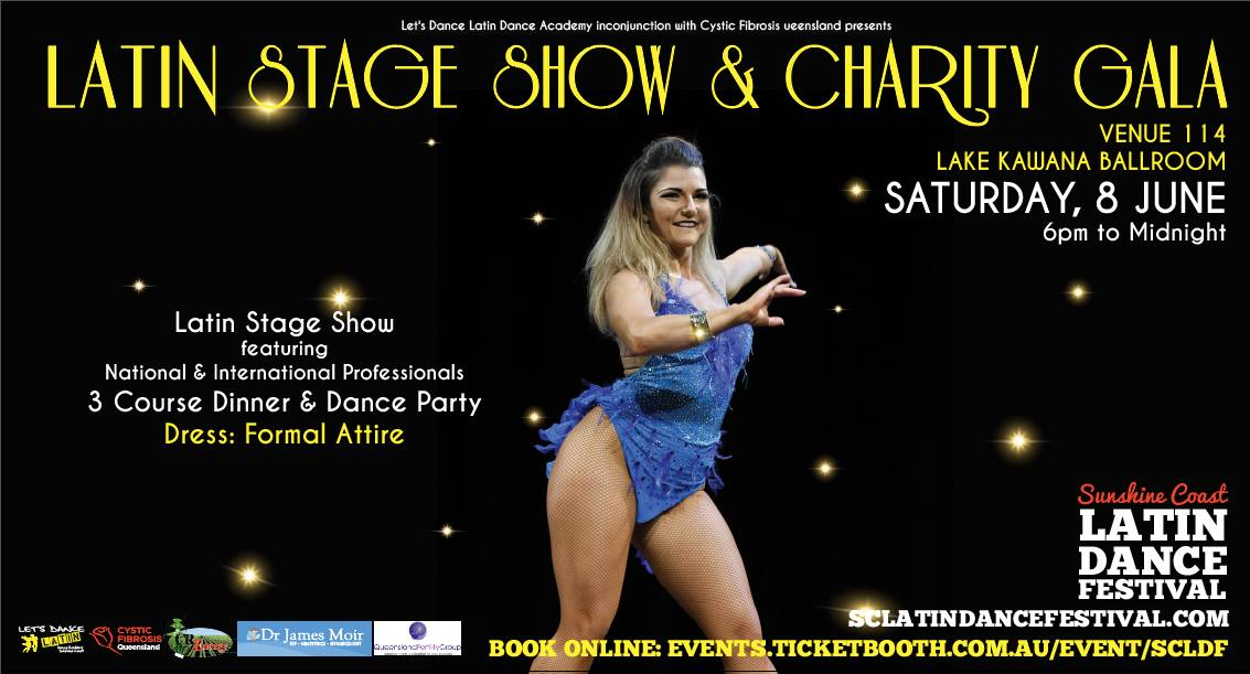 Tickets for Sunshine Coast Latin Stage Show & Charity Gala in Bokarina from Ticketbooth
