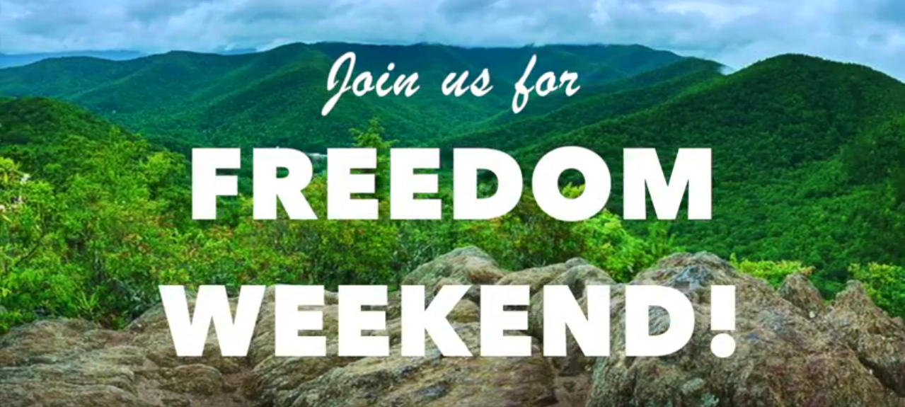 Tickets for Freedom Weekend 2019 in Montreat from ShowClix