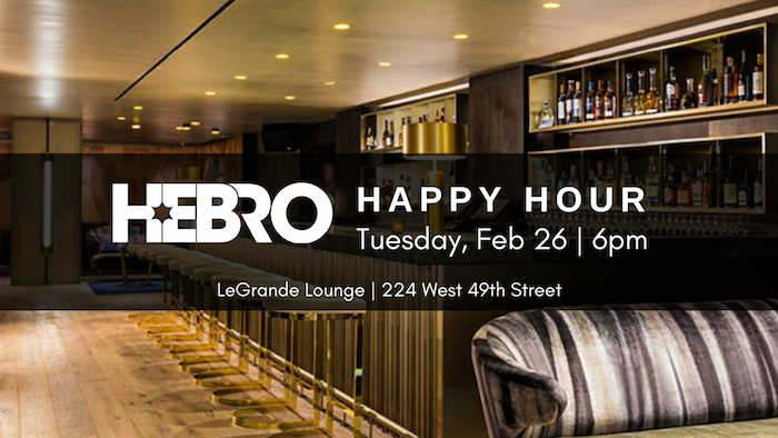 Tickets for HEBRO HAPPY HOUR in New York from ShowClix