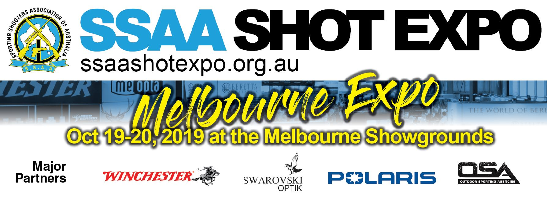 Tickets for SSAA SHOT Expo Melbourne 2019 in Ascot Vale from Ticketbooth