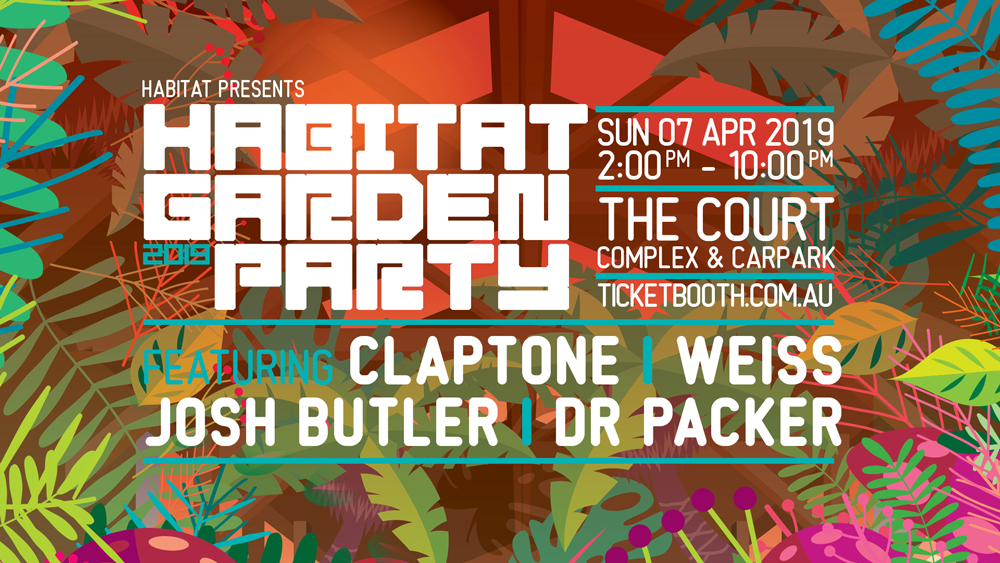 Tickets for Habitat Garden Party // End Of Summer Edition in Perth from Ticketbooth