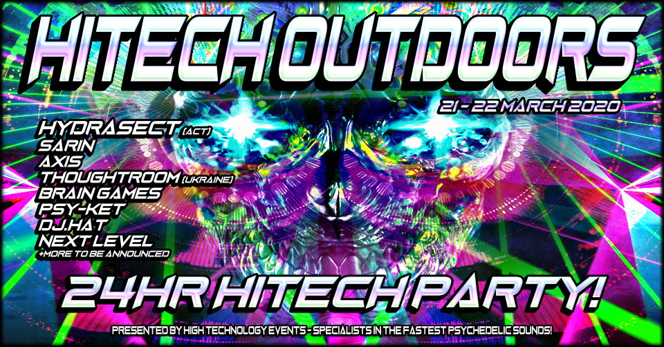 Tickets for HiTech Hallucination in Sydney from Ticketbooth