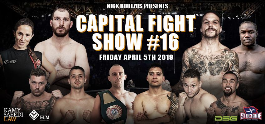 Tickets for Capital Fight Show 16 in Woden from Ticketbooth