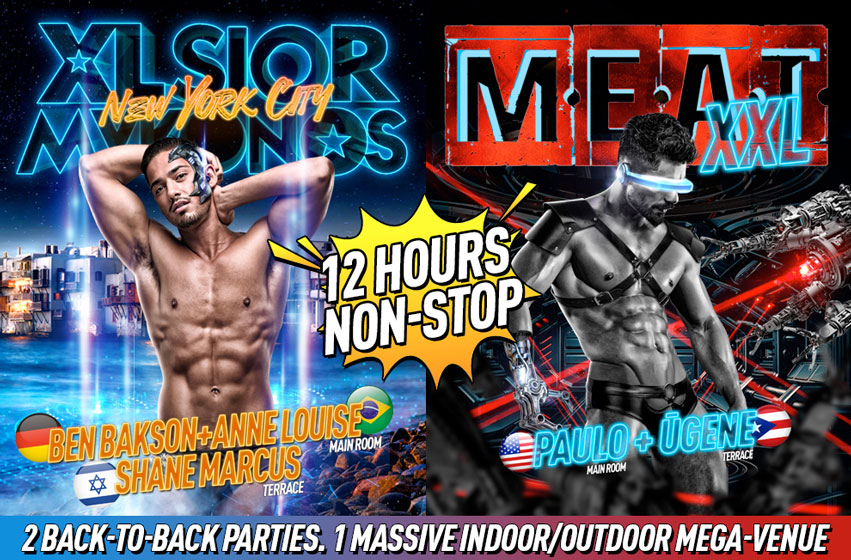 Tickets for M.E.A.T. XXL | PRIDE Friday | DJs Nina Flowers + Cindel + Leomeo in New York from ShowClix