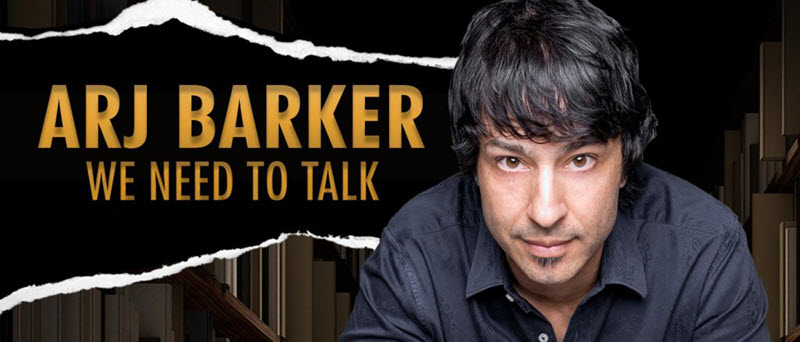 Tickets for Arj Barker - We Need To Talk in Murray Bridge from Ticketbooth