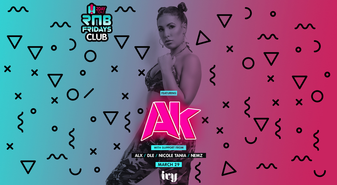 Tickets for RNB Fridays | DJ AK in Sydney from Merivale
