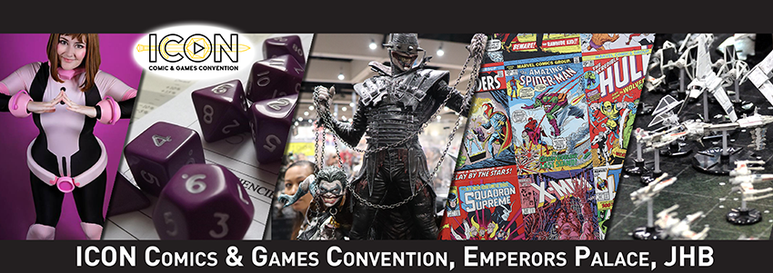 Find tickets from Icon Comics & Games Convention PTY Ltd