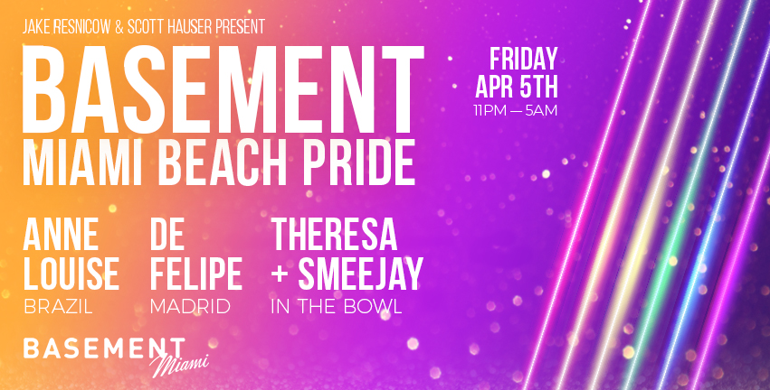 Tickets for Miami Beach Pride: BASEMENT Official Friday Kick-Off in Miami Beach from ShowClix