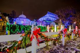 Pittsburgh Christmas Shows.Phipps Conservatory Christmas Trip