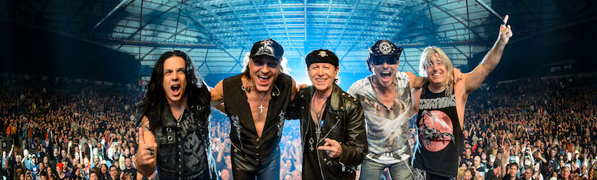 Tickets for Scorpions in Budapest from FUNCODE