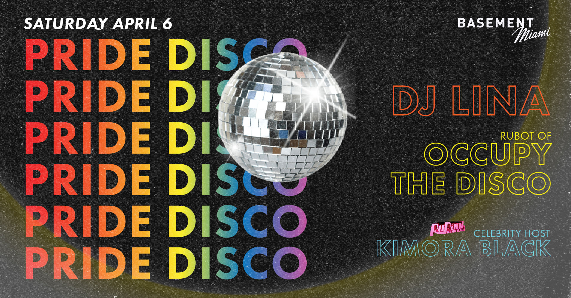 Tickets for PRIDE DISCO at BASEMENT Miami Beach in Miami Beach from ShowClix