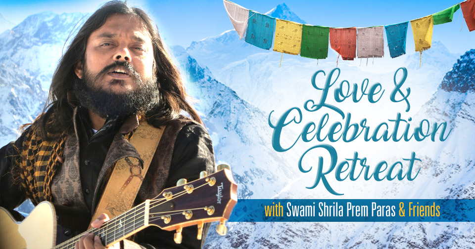 Tickets for Love & Celebration Retreat with Swami Prem Paras in Jabalpur from BrightStar Live Events