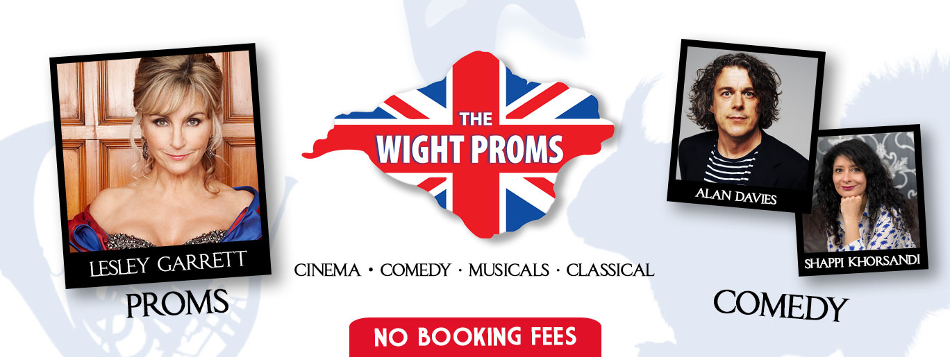 Tickets for Comedy & Proms in Cowes from Ticketbooth Europe