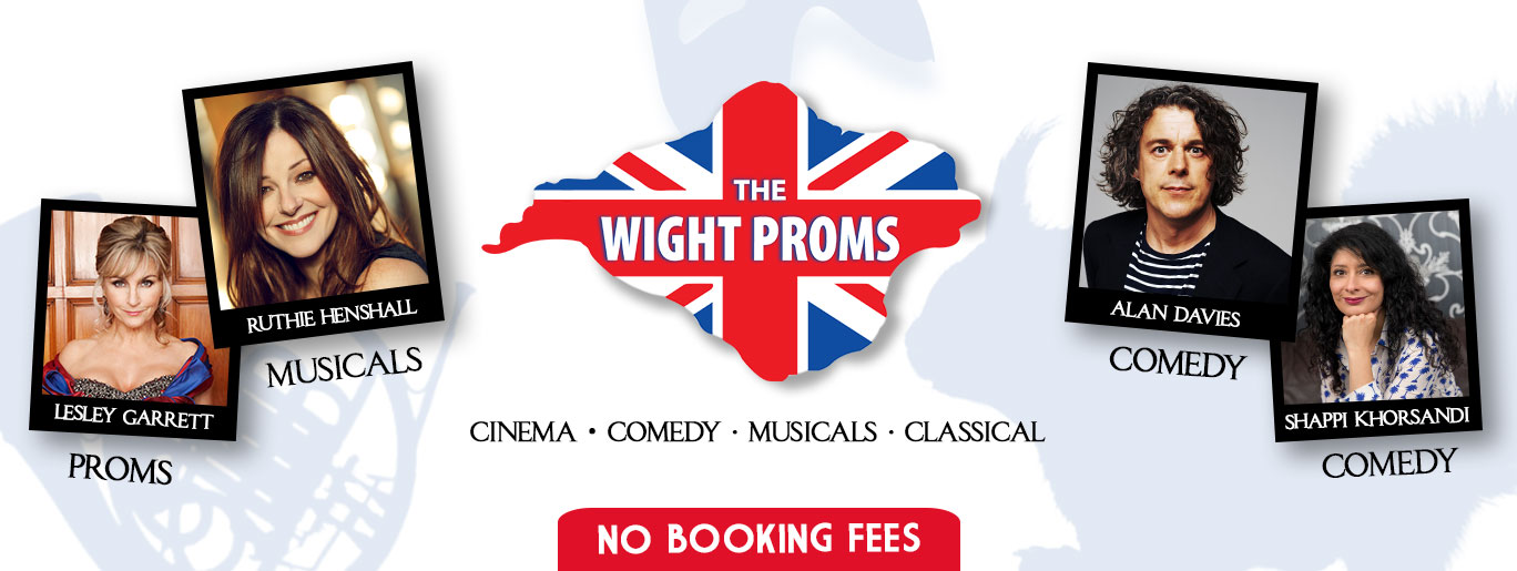 Tickets for Comedy, Musicals & Proms in Cowes from Ticketbooth Europe