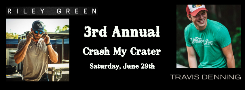 Tickets for 3rd Annual Crash My Crater in Manson from ShowClix