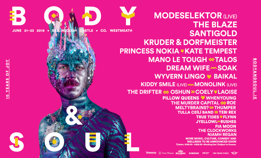 Tickets for Body&Soul Festival 2018 in Co.Westmeath from Ticketbooth Europe
